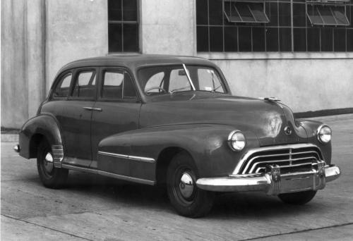 Oldsmobile in Australia, The '46 to '48 Ace